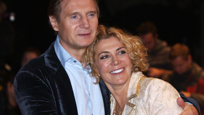 Stolzer Film-Daddy: Liam Neeson liebt Maggie Grace