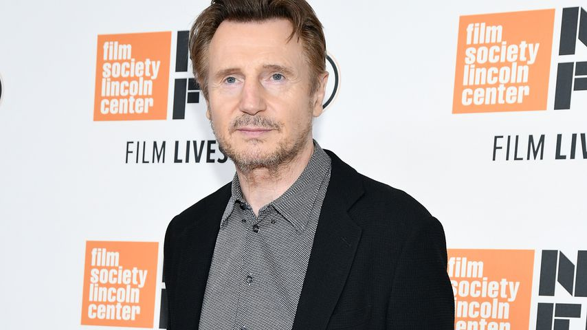 "Liam Neeson bei der ""The Ballad of Buster Scruggs""-Premiere in NYC im Oktober 2018"