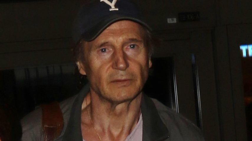 Erschreckend: Liam Neeson sieht ganz erschöpft aus
