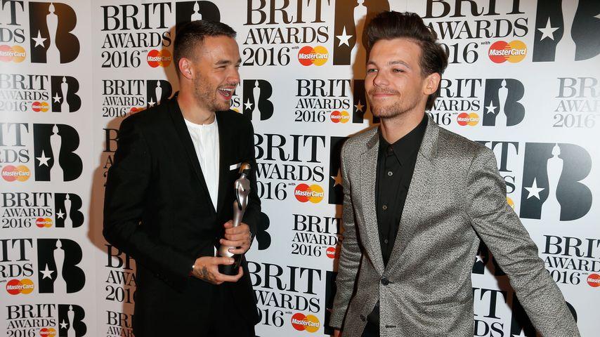Liam Payne und Louis Tomlinson bei den BRIT Awards 2017 in London