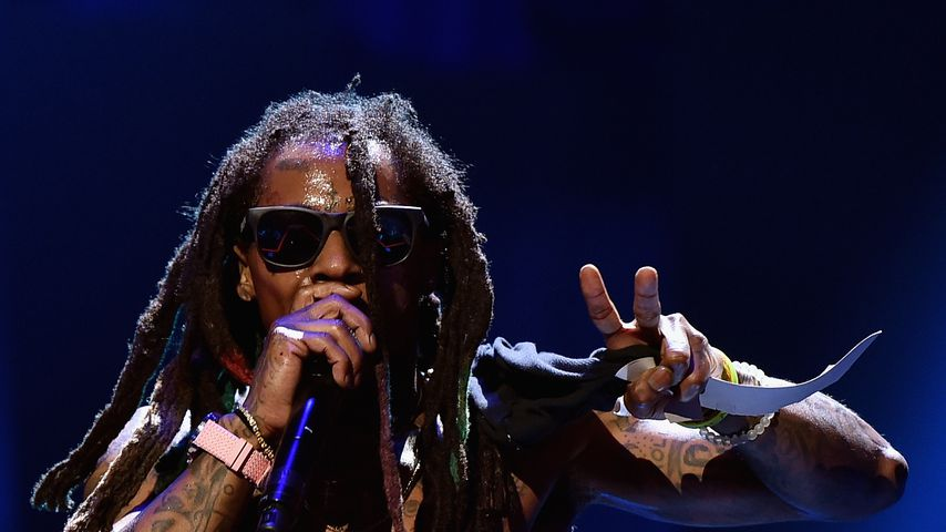Rapper Lil Wayne 2015 beim iHeartRadio Music Festival in Las Vegas