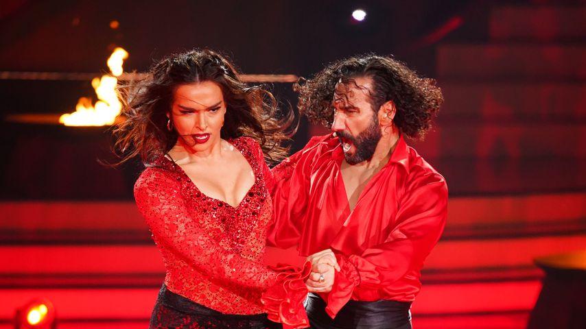 "Lili Paul-Roncalli und Massimo Sinató bei ""Let's Dance"""
