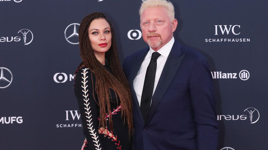 Lilly und Boris Becker bei den Laureus World Sports Awards 2018