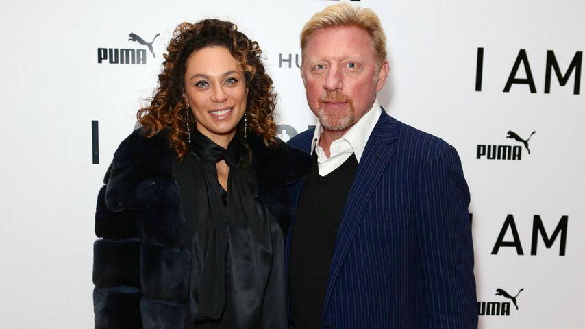 """Lilly und Boris Becker im November 2016 bei der """"I Am Bolt""""-Filmpremiere in London"""