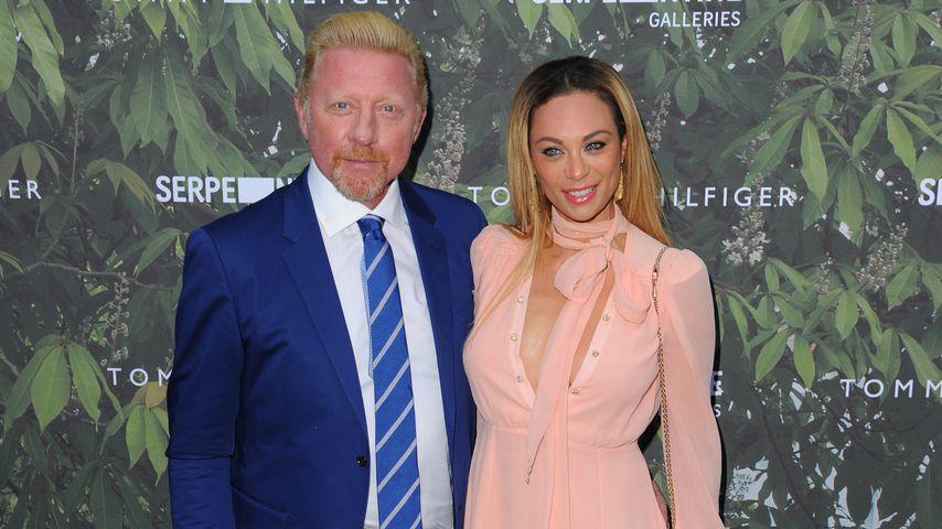 Lilly und Boris Becker im Juli 2016 in London