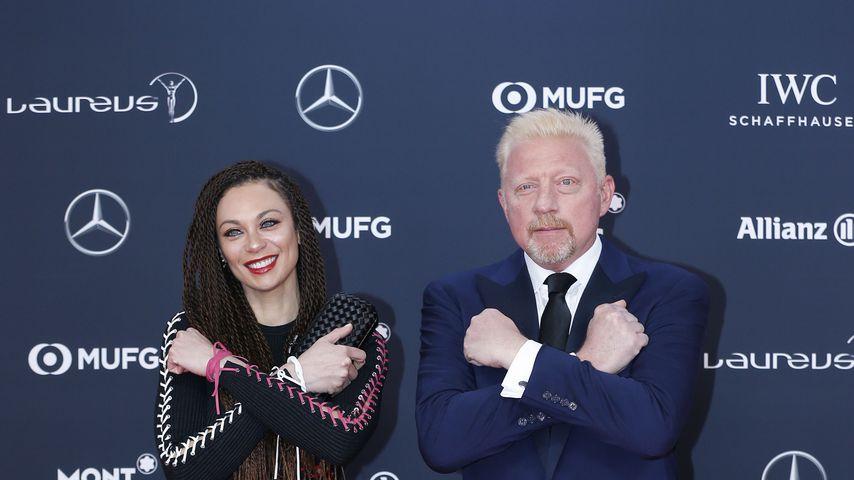 Lilly und Boris Becker im Februar 2018