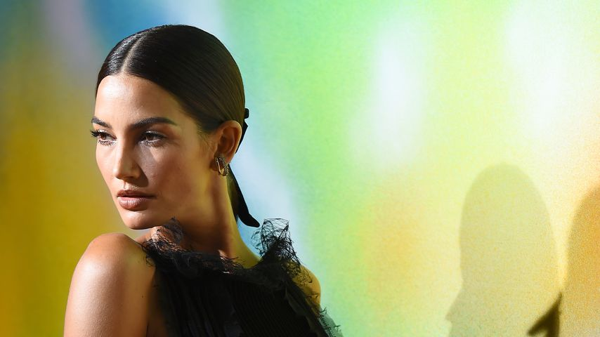 Lily Aldridge bei der New York Fashion Week