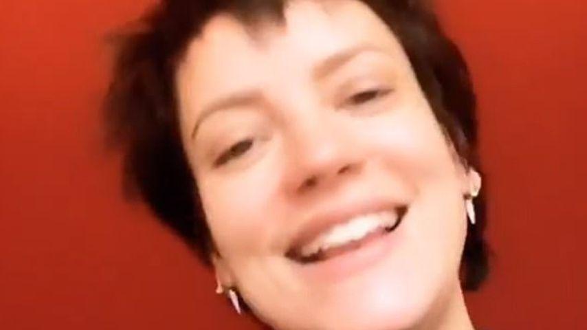 Verwandlung! Lily Allen zeigt sich mit extremen Pixie-Cut