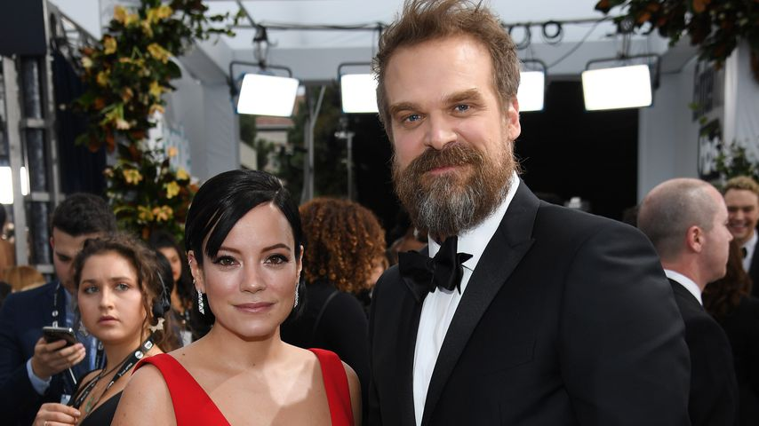 Lily Allen und David Harbour bei den Screen Actors Guild Awards 2020