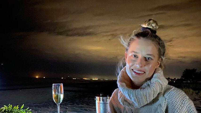 Lily Anne Harrison im Mexiko-Urlaub zum Jahreswechsel