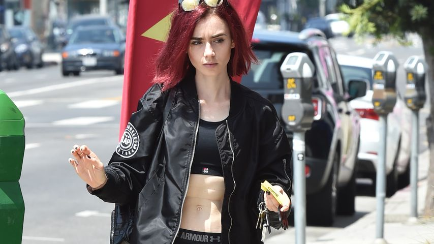 Lily Collins in West Hollywood
