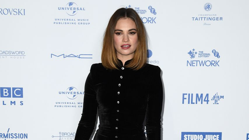 Lily James, 2019