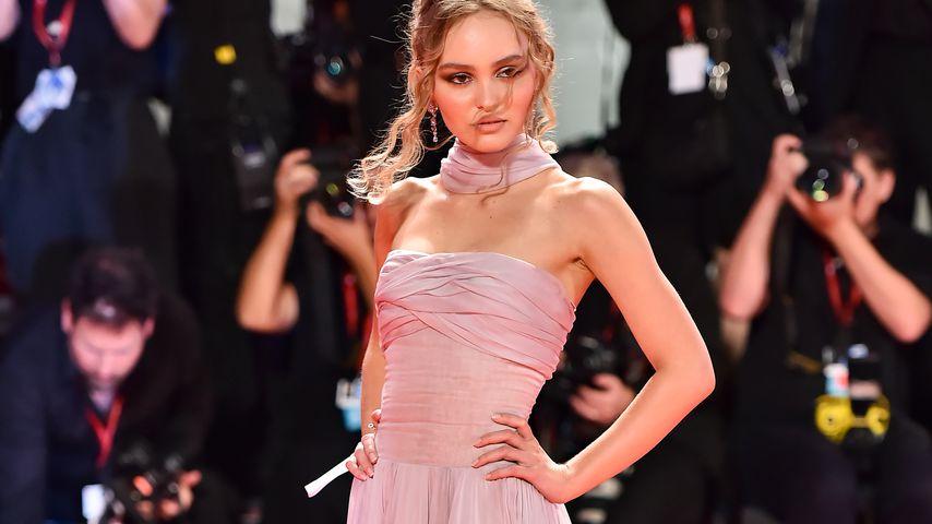 """Lily-Rose Depp bei der Premiere von """"The King"""" bei den Filmfestspielen in Venedig"""