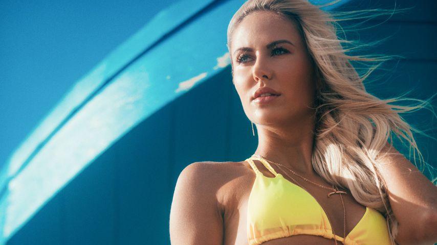 Lina Kolodochka beim Bachelor-Bikinishooting 2018