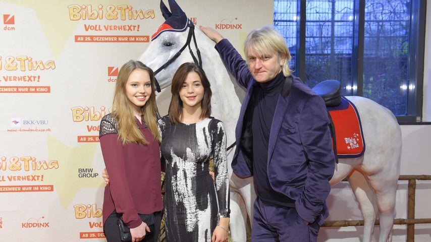 Lina Larissa Strahl, Lisa-Marie Koroll und Detlev Buck