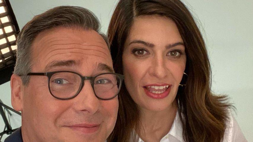 "Linda Zervakis und Matthias Opdenhövel, ""Zervakis und Opdenhövel live""-Moderatoren"