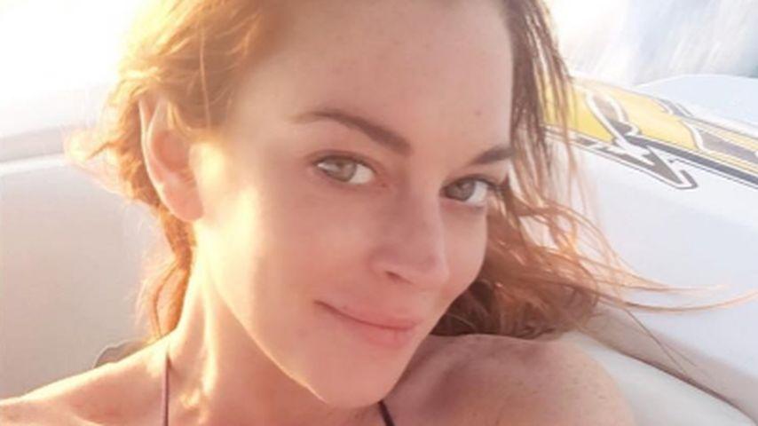Heiß geschnürt: So sexy macht Lindsay Lohan Urlaub!