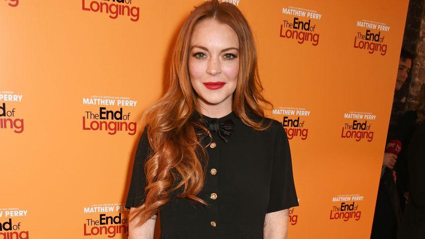 Lindsay Lohan auf einer Filmpremiere