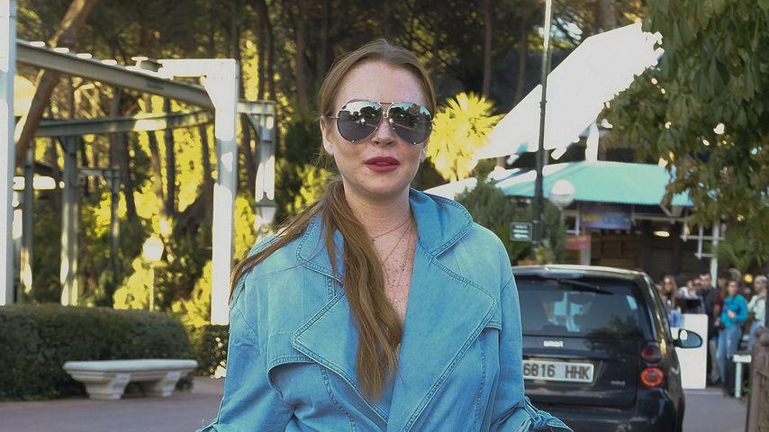 Lindsay Lohan in Madrid, 2017