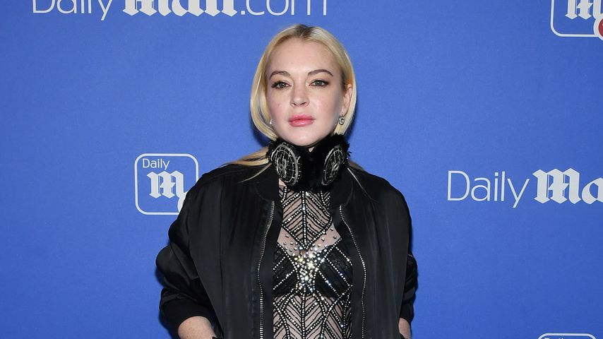 Lindsay Lohan bei einer DailyMail-Party