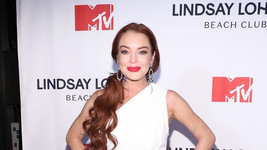 "Lindsay Lohan bei der Premiere der TV-Produktion ""Lindsay Lohan's Beach Club"""