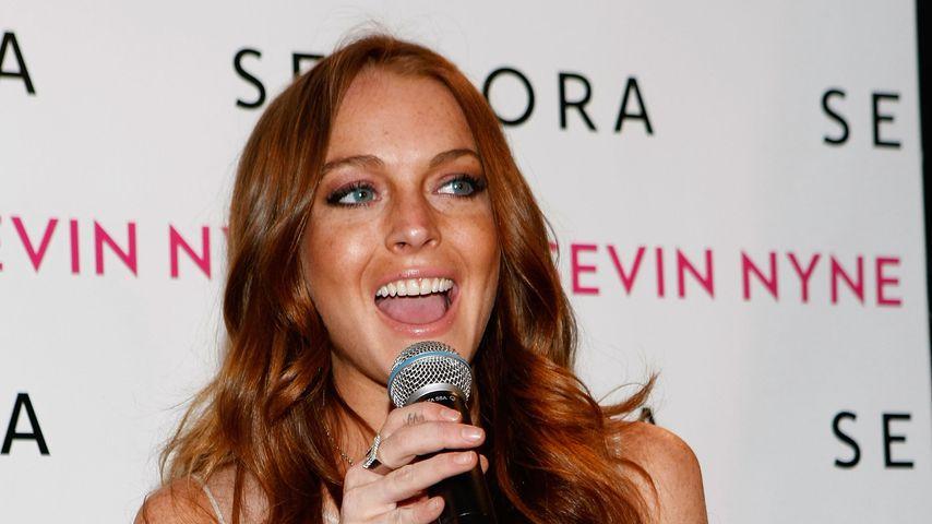 Sängerin und Schauspielerin Lindsay Lohan