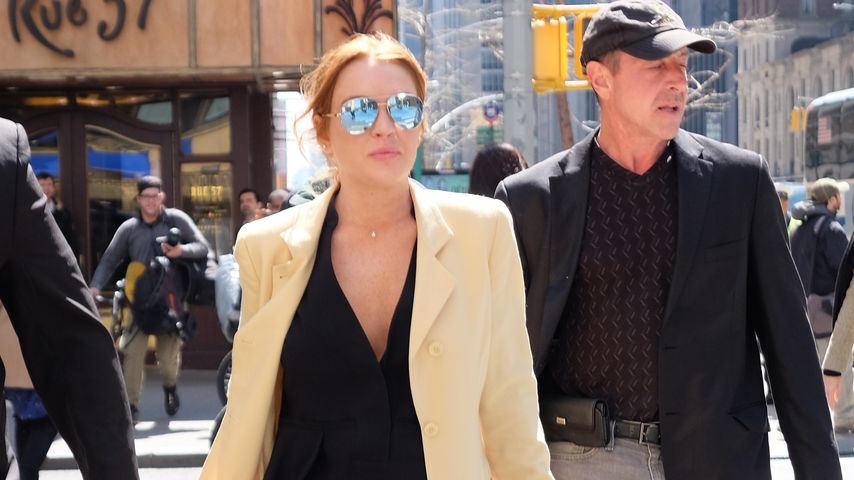 Hollywood-Star Lindsay Lohan und ihr Vater Michael