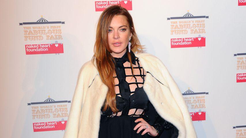 Streit mit dem Lover? Lindsay Lohan aufgelöst in Mailand
