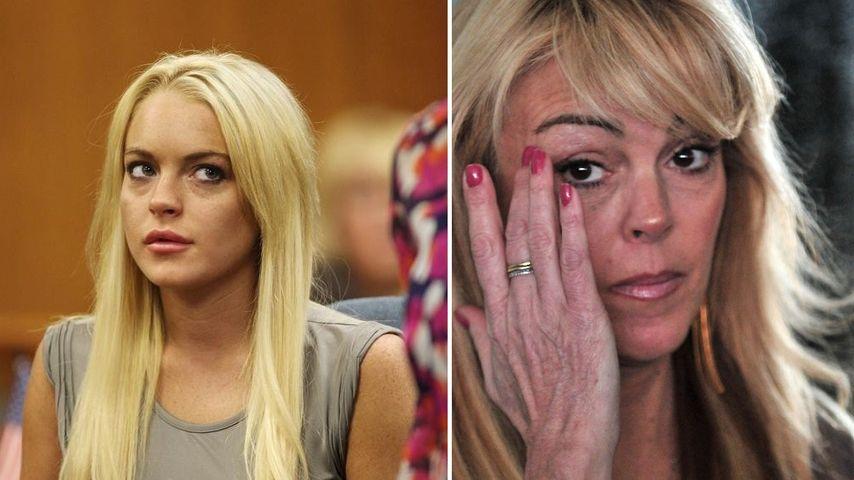 Lindsay Lohan hngt die Brust raus Promiflashde