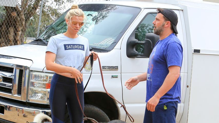 Lindsay Shookus und Ben Affleck in Los Angeles