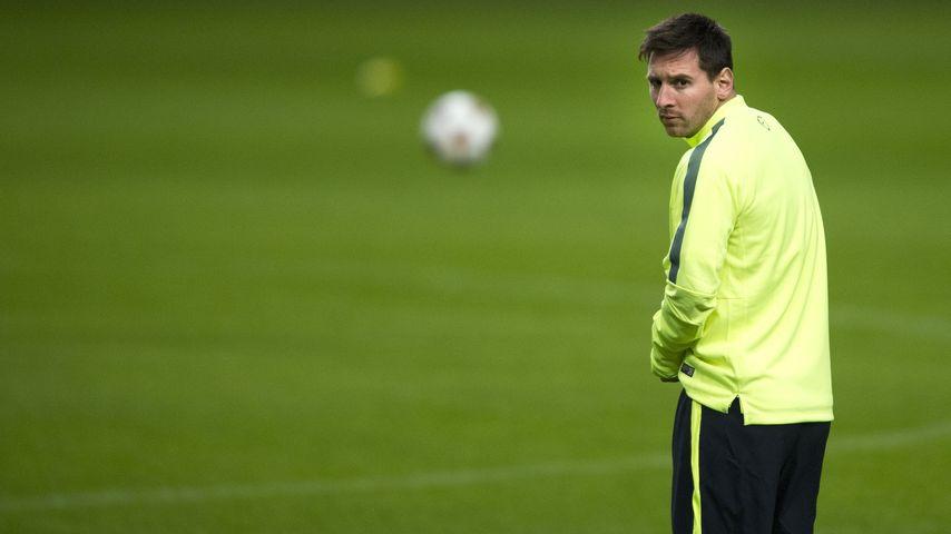 Lionel Messi in der Amsterdam Arena