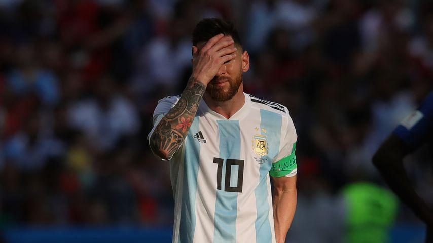 Lionel Messi nach dem WM-Spiel gegen Frankreich
