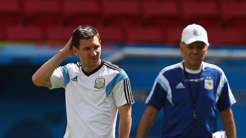 Verstorbener Trainer Alejandro Sabella: Lionel Messi trauert