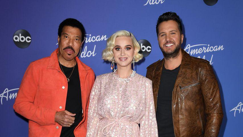 "Die ""American Idol""-Jury Lionel Richie, Katy Perry und Luke Bryan"