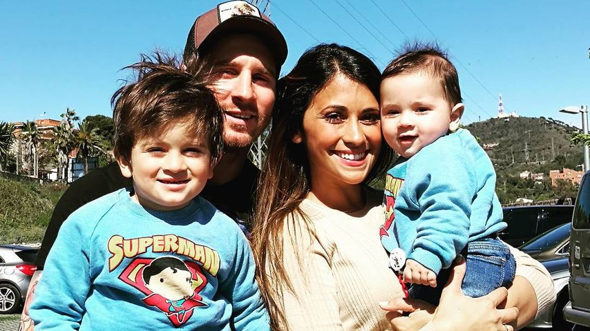 Nach Rücktritt: Messis süße Familie schenkt ihm jetzt Trost