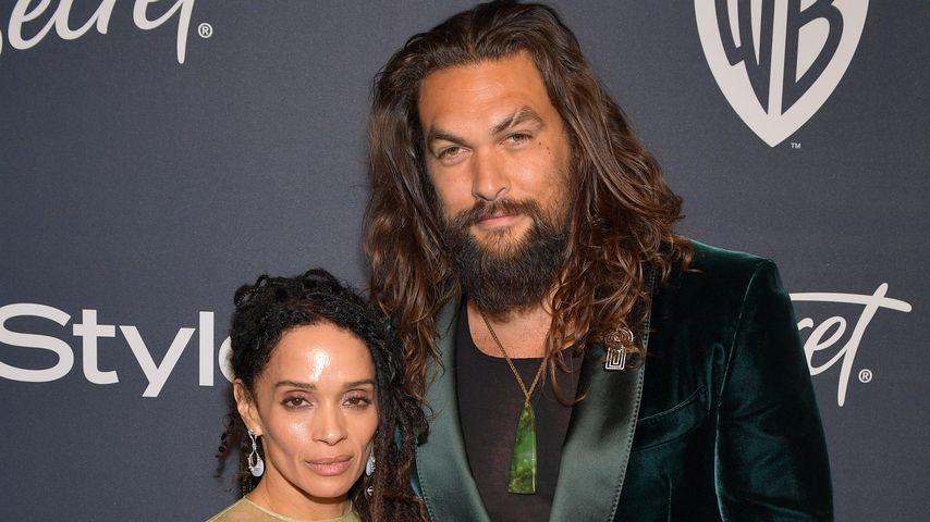 Lisa Bonet und Jason Momoa bei den Golden Globes 2020