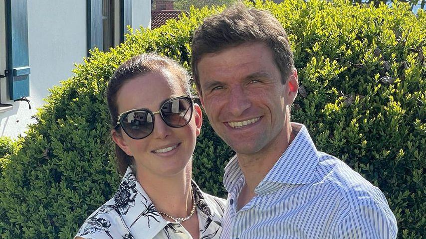 Lisa Müller und ihr Mann Thomas im Mai 2021