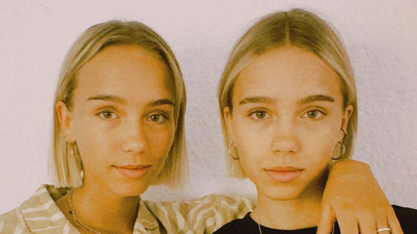 Lisa und Lena im Mai 2020