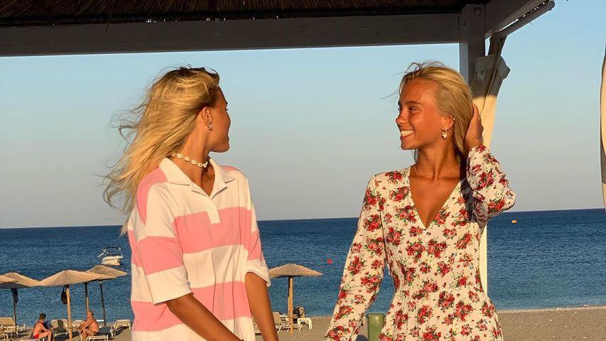 Lisa und Lena im August 2019 in Griechenland