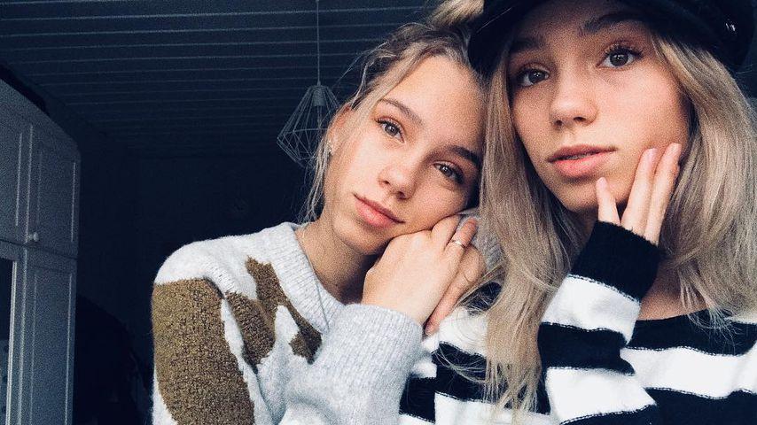 Natürliche Schönheiten? Lisa und Lena tragen kaum Make-up