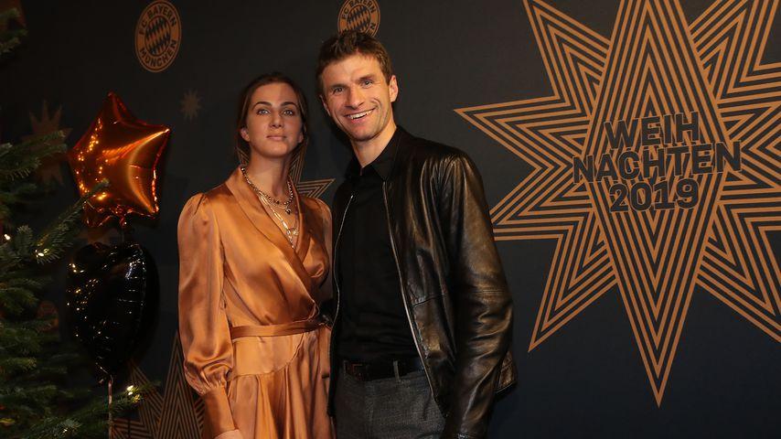 Lisa und Thomas Müller im Dezember 2019