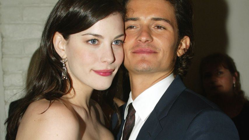 Liv Tyler und Orlando Bloom 2003 in Los Angeles