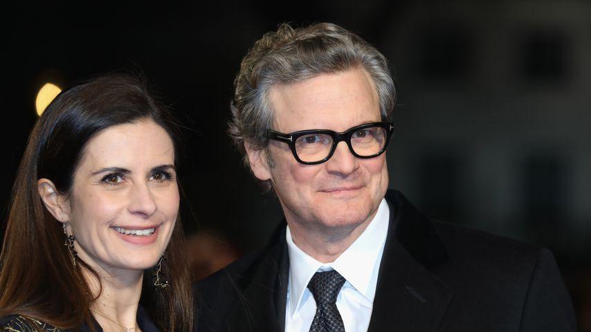 """Livia Giuggioli und ihr Mann Colin Firth in London bei der """"Mercy""""-Premiere"""