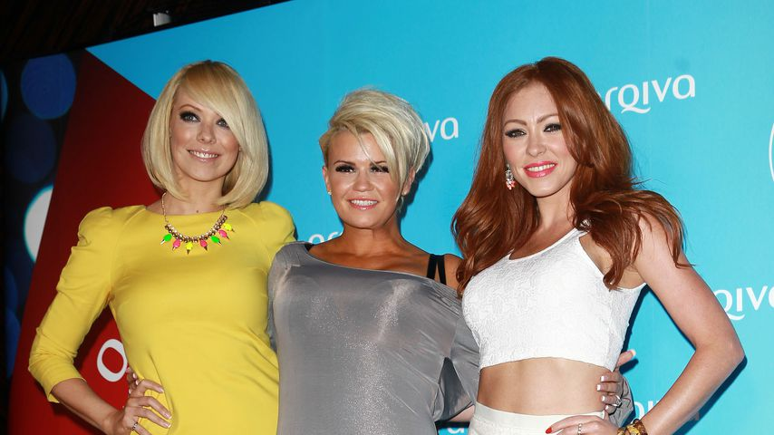 Liz McClarnon, Kerry Katona and Natasha Hamilton bei den Arqiva Commercial Radio Awards