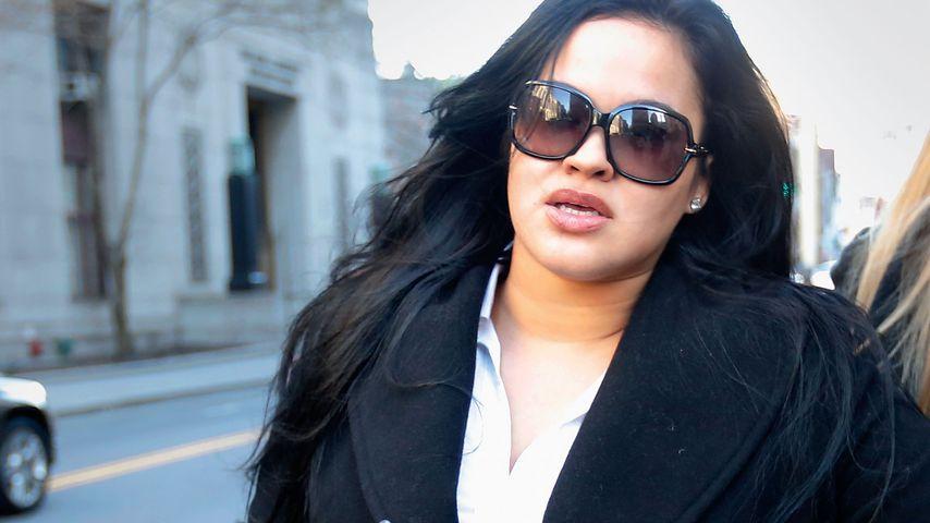 Liza Morales auf dem Weg zu einer Anhörung in NYC im März 2013