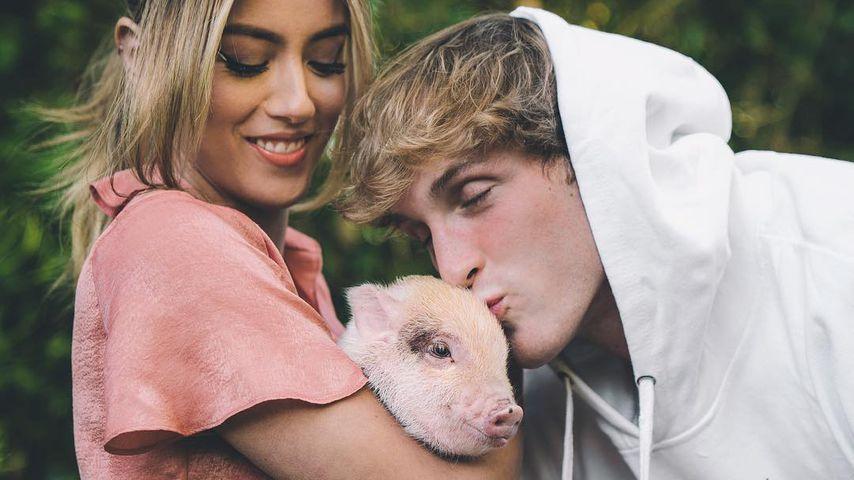 Chloe Bennet, Logan Paul und ihr Hausschwein