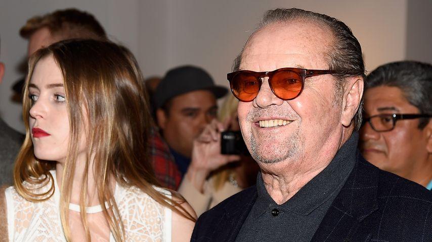 Seltener Anblick: Jack Nicholson & seine Tochter