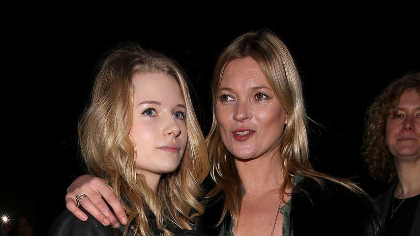 Lottie und Kate Moss 2014 in London