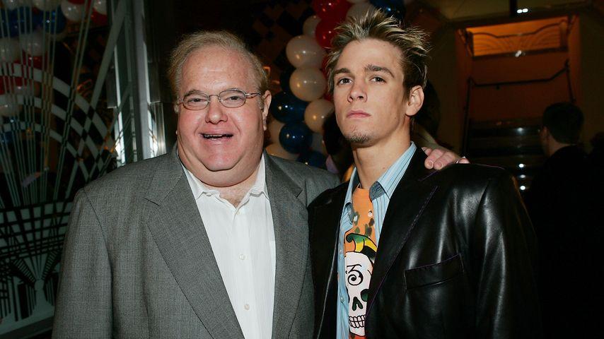 Lou Pearlman und Aaron Carter im Jahr 2005