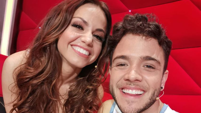 Luca Hänni und seine Tanzpartnerin Christina Luft im Februar 2020